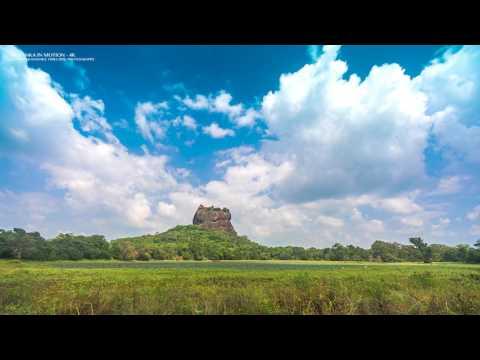 Sigiriya, Sri Lanka, Timelapse video