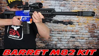 BARRET M82 WORKER KIT FÜR NERF RETALIATOR [ANTI-MATERIEL RIFLE]