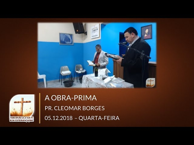 05/12/2018 | Quarta | Culto De Santa Ceia | Boa Esperança / SP
