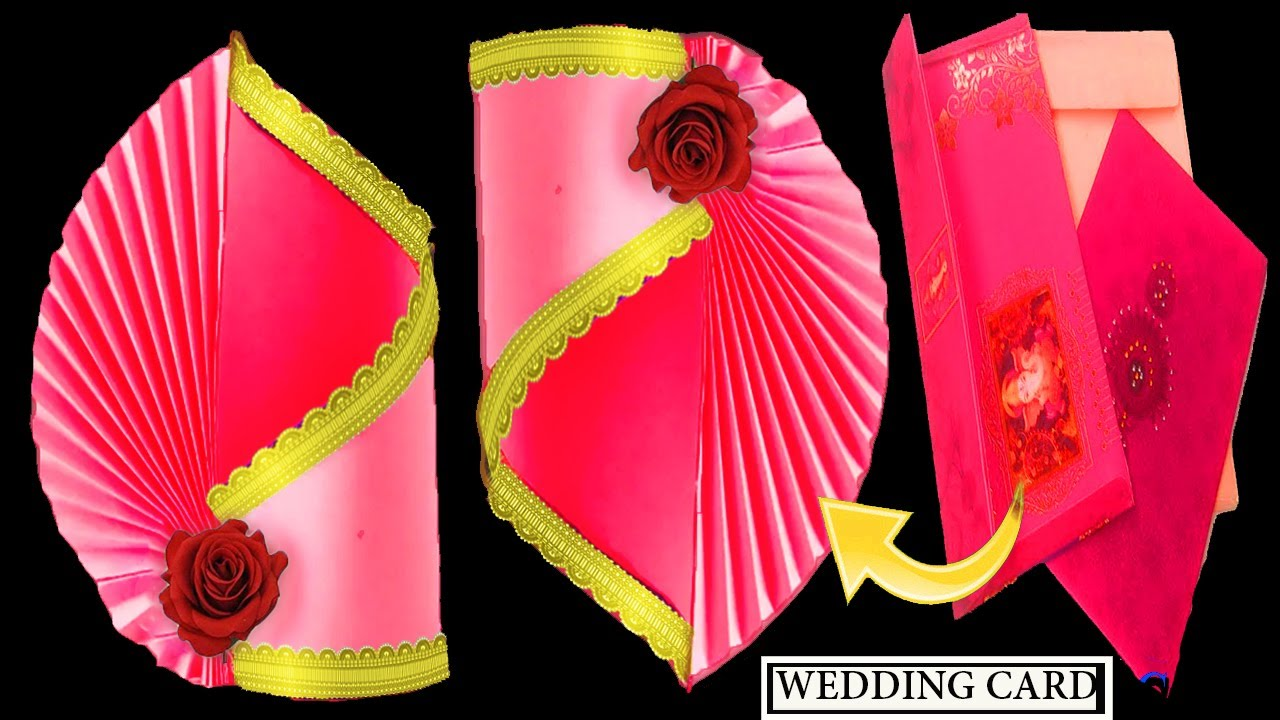 Best out of waste wedding card craft ideas  Best use of old #wedding card   marriage card craft