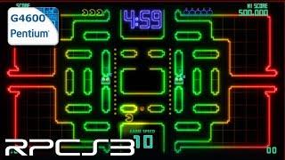 RPCS3 0.0.8-9528 - Pac-Man Championship Edition DX - Pentium G4600 - Test