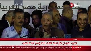 كلمة المنسق العام للقوى الوطنية والإسلامية خلال وقفة الشكر لمصر لدعمها المصالحة الفلسطينية