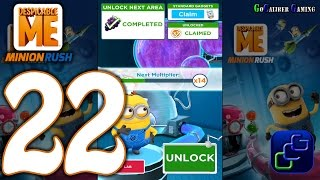 Despicable Me Minion Rush Android Walkthrough - Part 22 - Residental Area Level 48-49