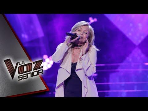 Rossy Guizar demostró todo su talento en el escenario de La Voz Senior. | La Voz Senior