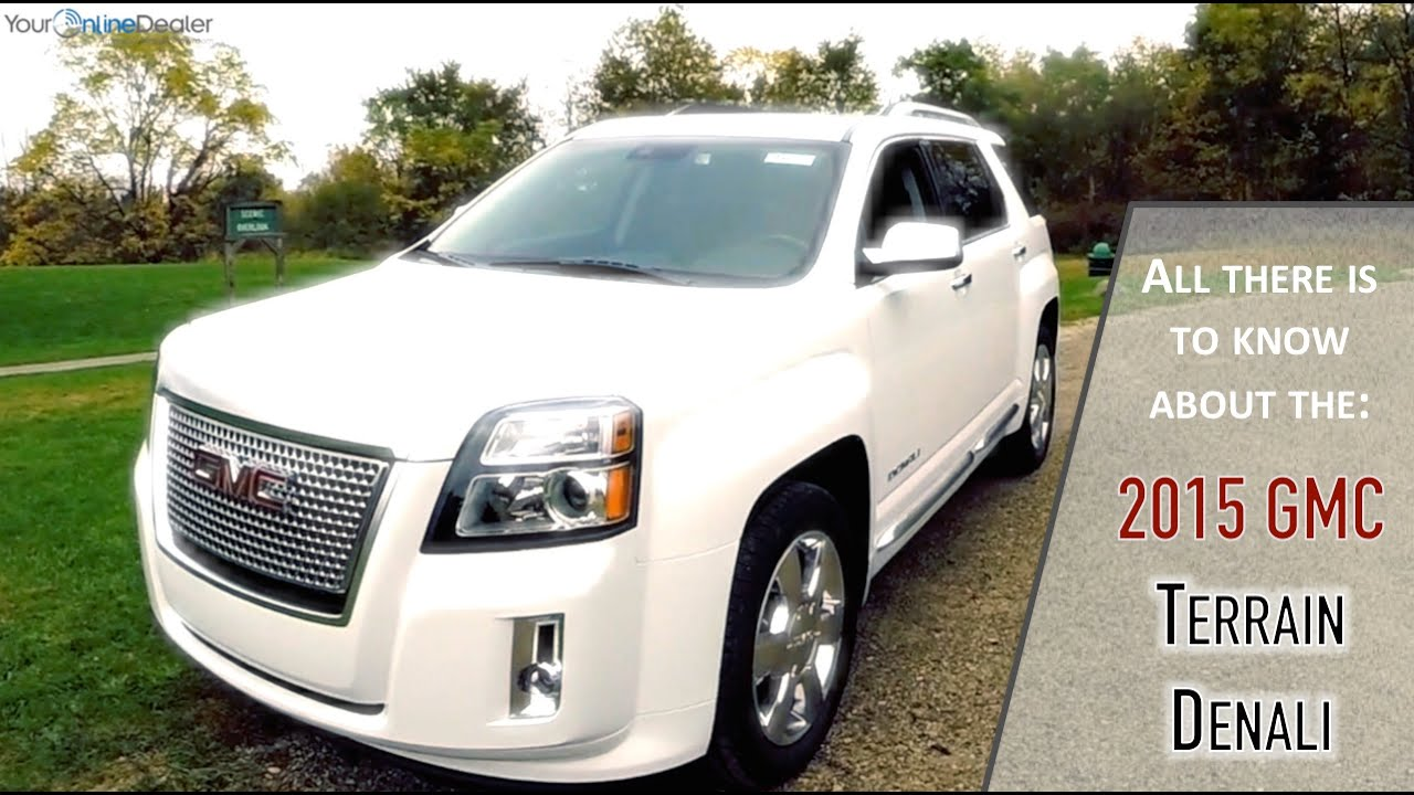 2015 Gmc Terrain Denali Test Drive Video Review Youtube