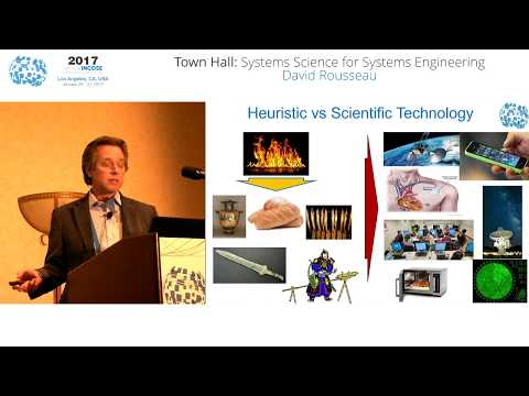 IW2017 - Town Hall: Systems Science for Systems Engineering