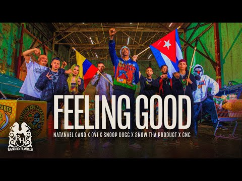 Natanael Cano x Ovi x Snoop Dogg x Snow Tha Product x CNG - Feeling Good [Official Video]