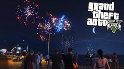 Silvester Feuerwerk! - GTA 5 Real Life Mod - Deutsch