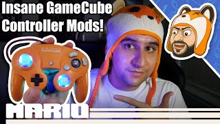 Ultimate Custom GameCube Controller - Resin Casted Buttons, Reactive LEDs and More! ft. RockerGaming