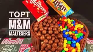 видео Приготовим торт из Кит Кат и M&M быстро и просто