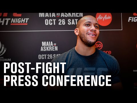 UFC Vegas 20: Post-fight Press Conference
