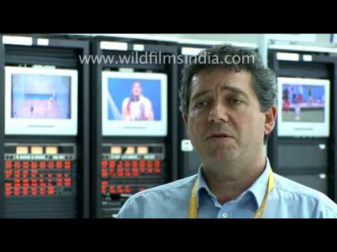 International Broadcasting Centre 2010 Commonwealth Games New Delhi, India