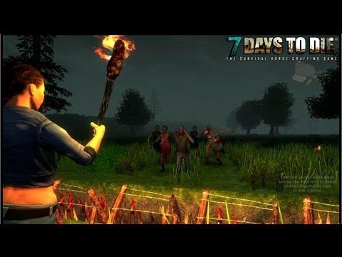 Смотрим: 7 Days to Die - Этакий Day Z + Minecraft (Pre-Alpha)