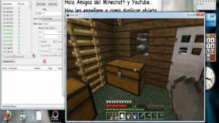 Minecraft-Como Duplicar Objetos:Diamante,Hierro,Oro,Piedra,etc. Con el Cheat Engine (CE)