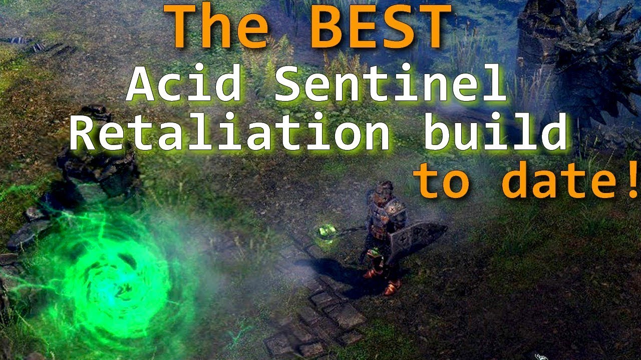 Grim Dawn Forgotten Gods Sentinel Full Retaliation build guide update#1