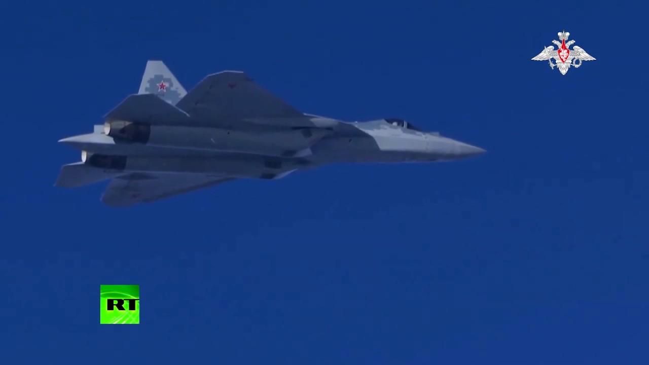 Су-57 испытали в небе Сирии