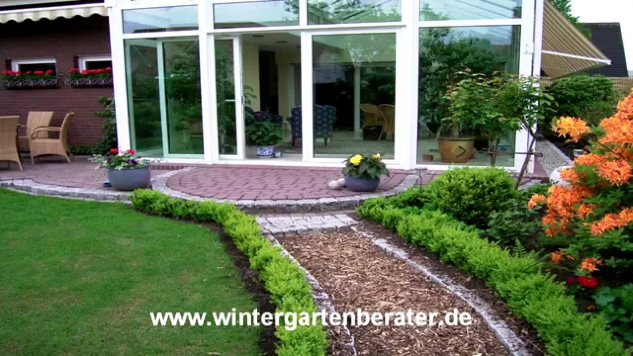 ideen zur treppenstufengestaltung vom wintergarten auf die terrasse youtube. Black Bedroom Furniture Sets. Home Design Ideas