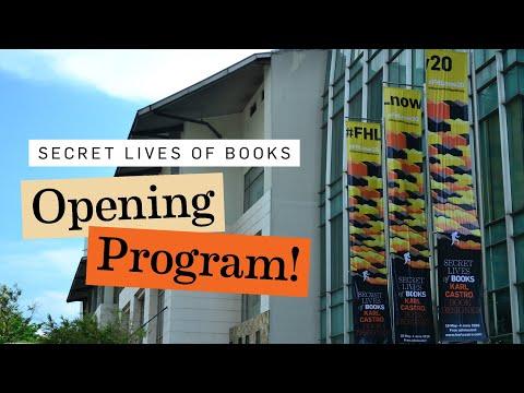 Opening Program – 'Secret Lives of Books: Karl Castro, Book Designer'