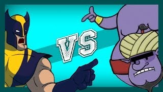 Wolverine VS Genie (feat. Ricepirate)