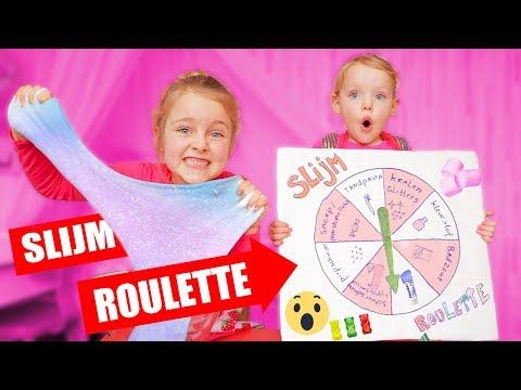 SLIJM ROULETTE!! [Super Raar Slijm Mixen] ♥DeZoeteZusjes♥