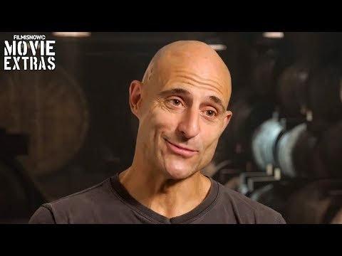 Kingsman: The Golden Circle  Onset visit with Mark Strong  Merlin
