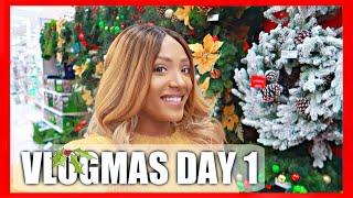 It's OFFICIALLY VLOGMAS!!!- VLOGMAS 2018 Day 1