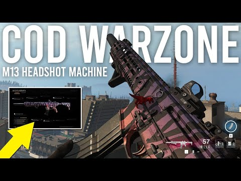 Call Of Duty Warzone M13 OP Build