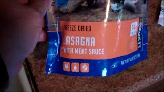 Mountain House Review~ Lasagna With Meat Sauce