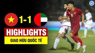 Highlights Việt Nam 1-1 UAE | Bùi Tiến Dũng hóa De Gea - Đức Chinh tỏa sáng - U22 VN hòa tiếc nuối