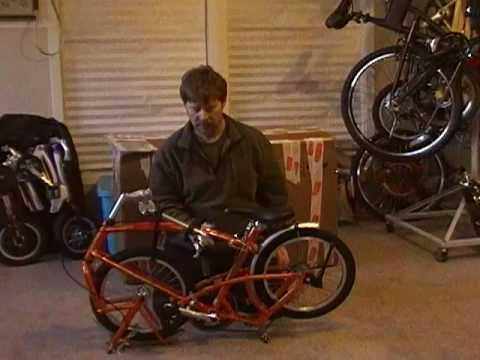 Unfolding The BigFish Folding Bike