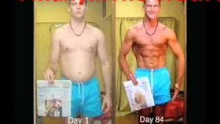 84 Days In 48 Seconds: Body Transformation Time Lapse