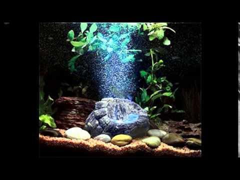 Грот в аквариум