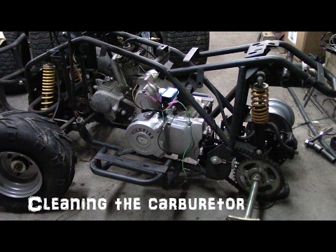Cleaning the chinese atv carburetor