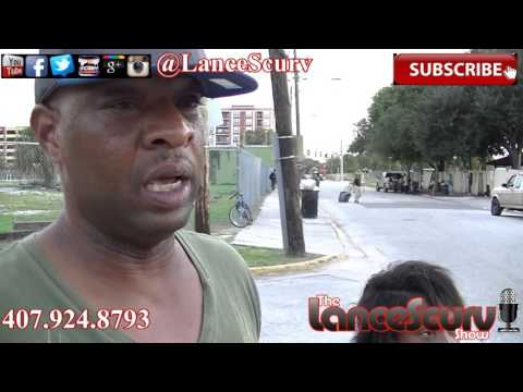 Homeless In Orlando Florida: The Darkside Of Dizneyworld! - The LanceScurv Show