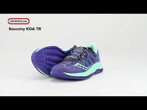 Кроссовки для бега Saucony KOA TR 10390-35S - YouTube 2b4890cdb34ad
