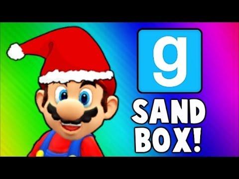 Gmod Sandbox Funny Moments - Gore Mod, Bouncy Castle of Death, Early Christmas! (Garry's Mod)