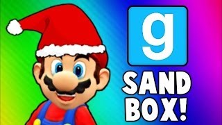 Gmod Sandbox Funny Moments - Gore Mod, Bouncy Castle of Death, Early Christmas! (Garry