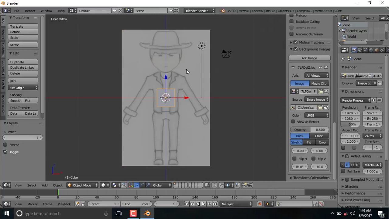 A background image not showing - How To Fix Blender Not Showing Background Images