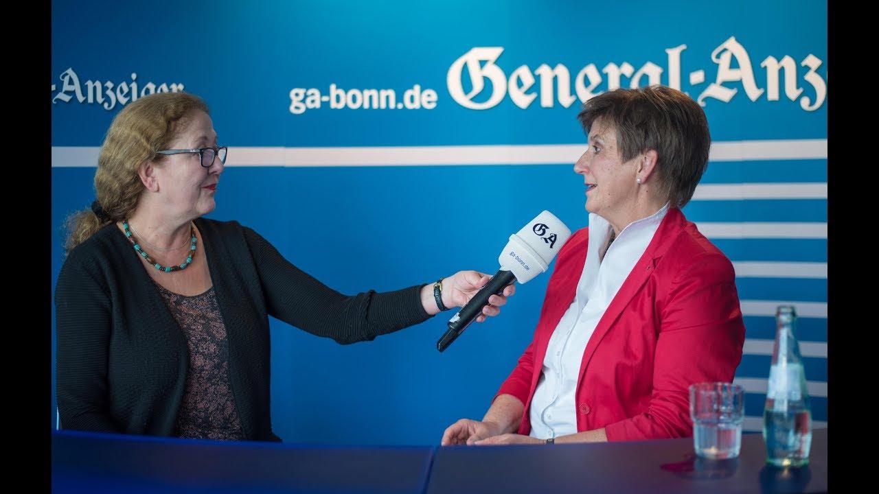 Der Heiße Stuhl Die Bonner Bundestagskandidatin Claudia Lücking