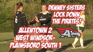Allentown 2 West Windsor-Plainsboro South 1 | Girls Soccer Highlights