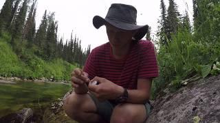 Ловля хариуса нахлыстом на сухую мушку(Grayling in Siberia by fly fishing with dry fly)