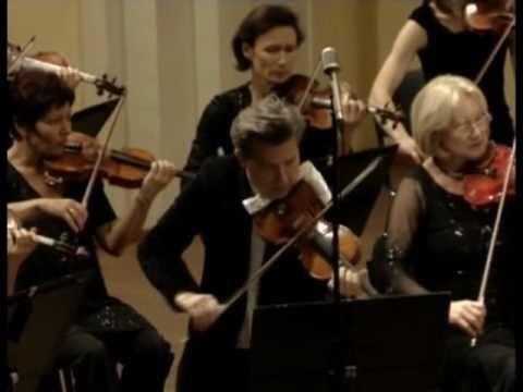 MUZA Rubackyte. Liudwig Van Beethoven's Concert for Piano, Violin and Orchestra (part 1).