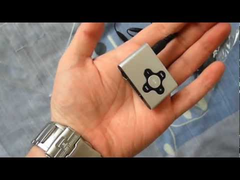 MP3 Sweex CLIPZ 2GB, Silver Unboxing