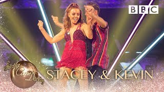 Stacey Dooley & Kevin Clifton Cha Cha to 'Came Here for Love' - BBC Strictly 2018