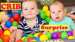 giant baby ball pit surprise toys crib newborn disneycartoys baby alltoycollector kids play twins