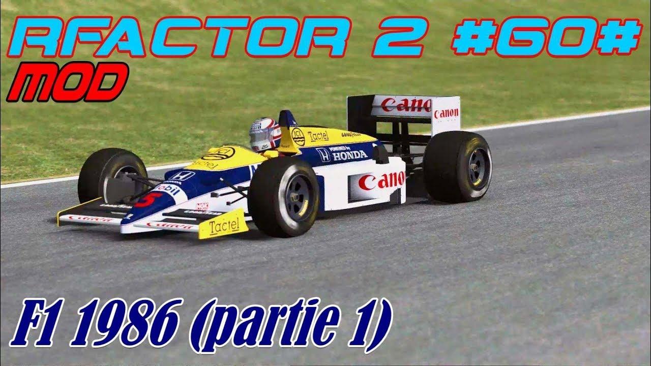 rFactor 2 #60# Mod # F1 1986 (partie 1)