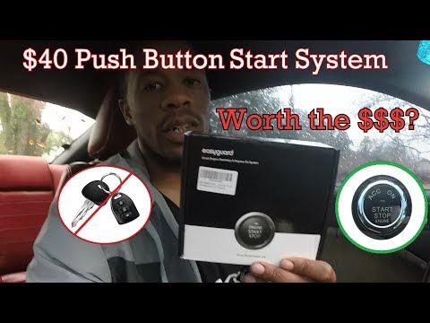 Complete Kit Richbrook /'Pro-Start/' Push Button Ignition//Keyless Start Switch