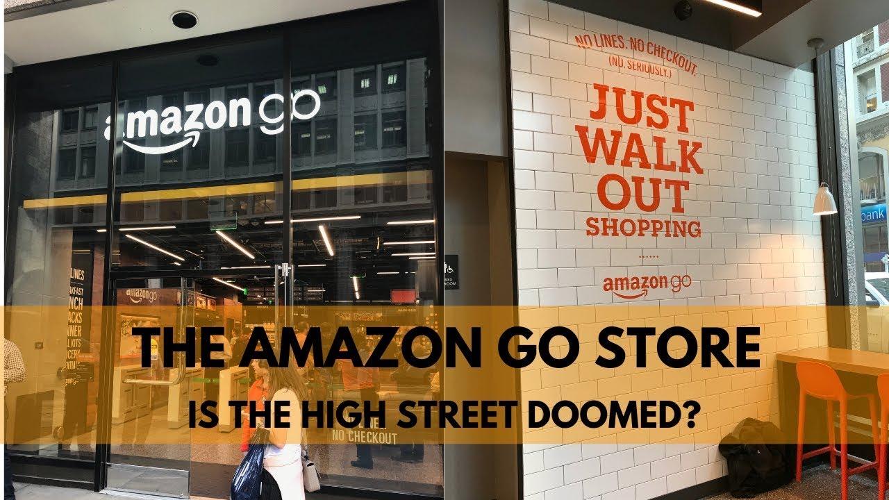 The Amazon Go Store How Does Amazon Go Work Youtube