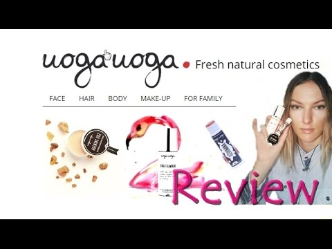NATURAL & ORGANIC & VEGAN & FRUIT EXTRACT makeup review & demo (UOGA UOGA)