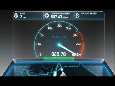 Korea Internet Speed Test